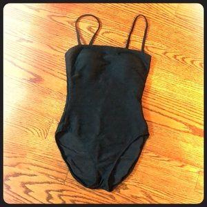 Gottex sz 10 black one piece classy style M01 070